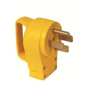 Camco RV 50 Amp Replacement Male Electrical Power Cord Plug w/Handle