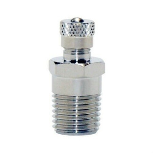 "Water Source AV125 1/8"" Thread Air Valve Chrome / Zinc Plated"