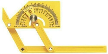 GeneralTools 29 Outside, Inside & Sloped Protractor, Articulating Arms