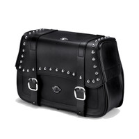 Charger Straight Studded Saddlebags