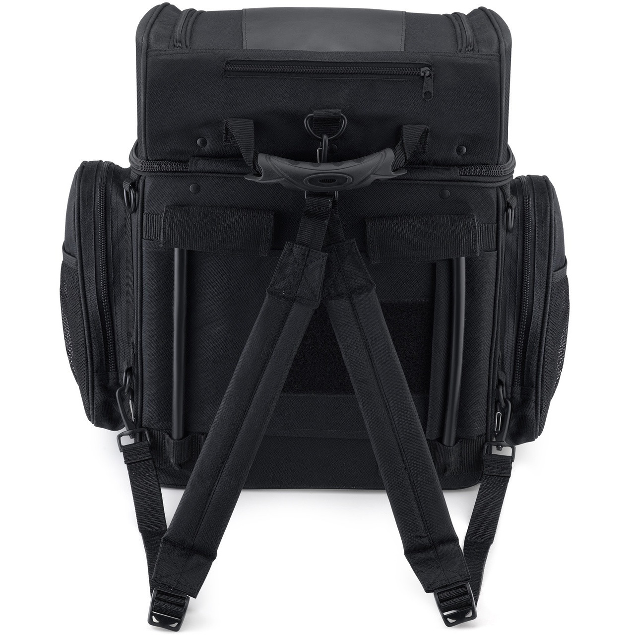 Large Back Motorcycle Seat Luggage (4080 cubic inches)  Back View