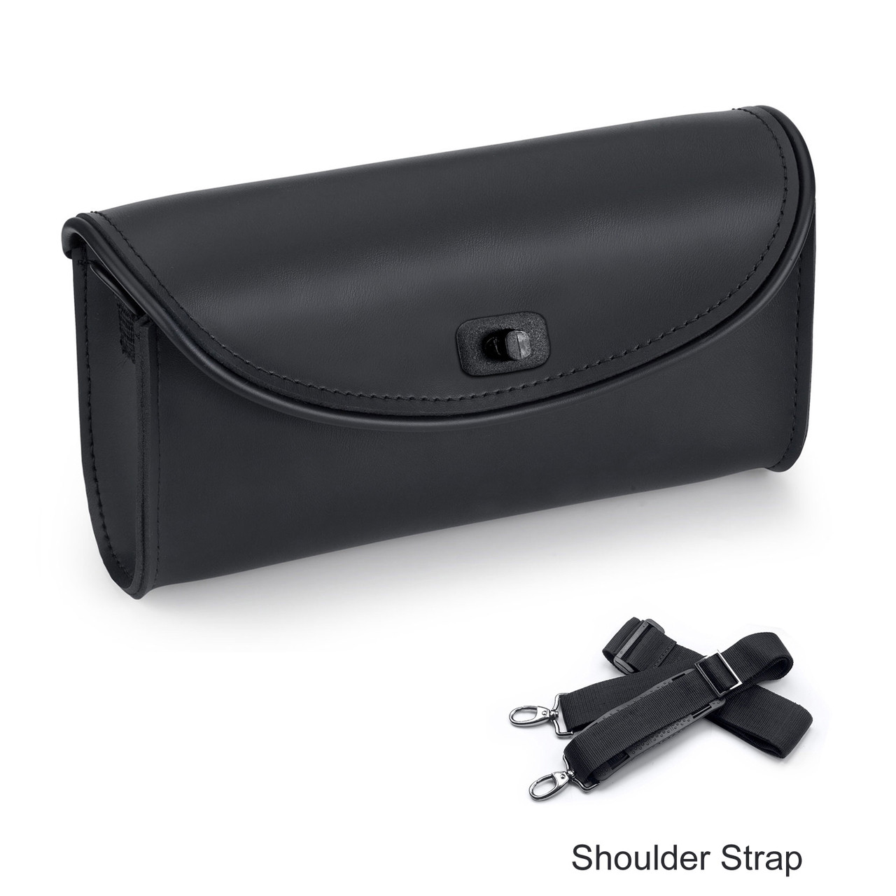 Large Detachable Motorcycle Windshield Bag With Shoulder Strap