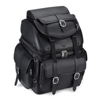 Leather Backrest Motorcycle Bags Main Image