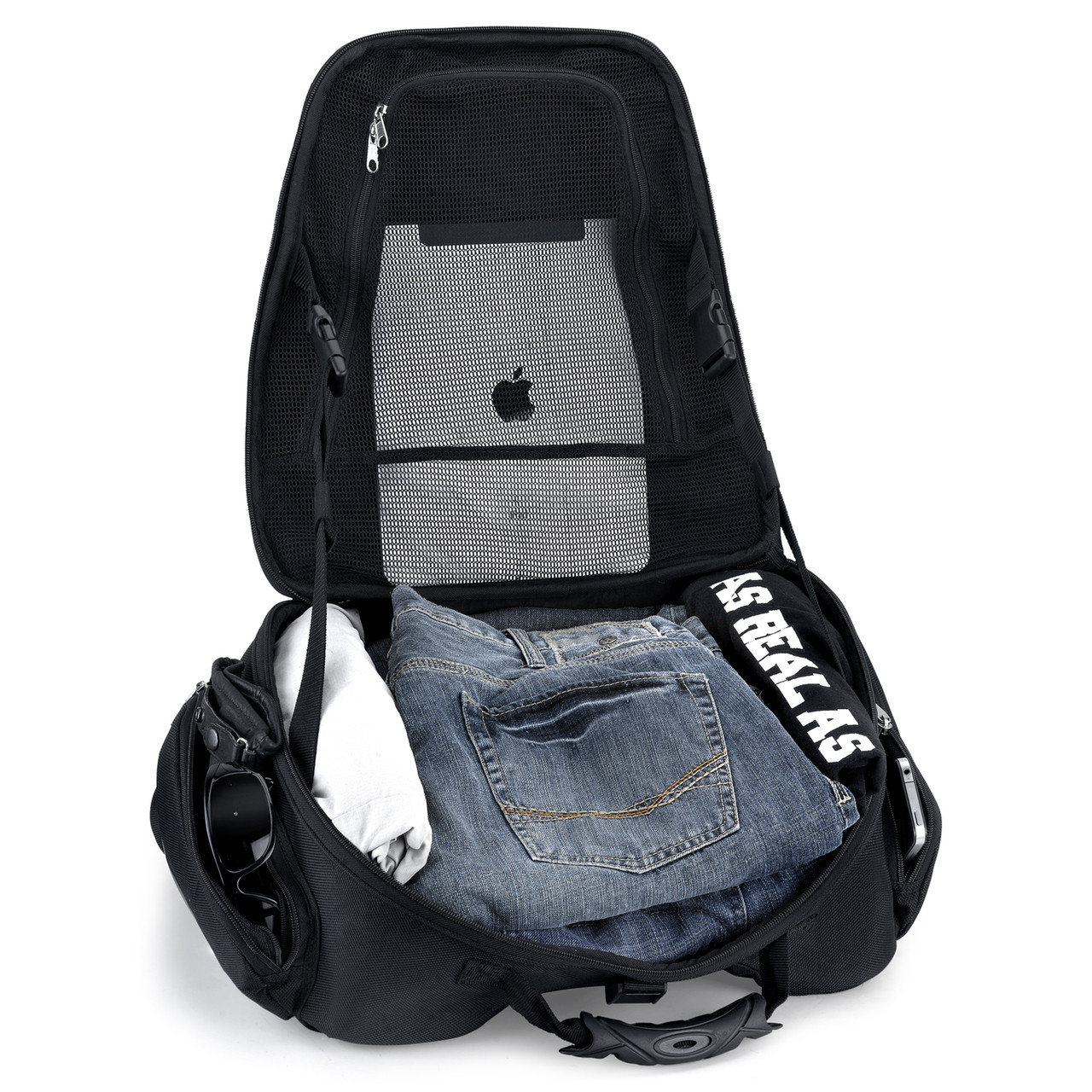 Motorcycle Tunnel Seat Luggage  Inside View