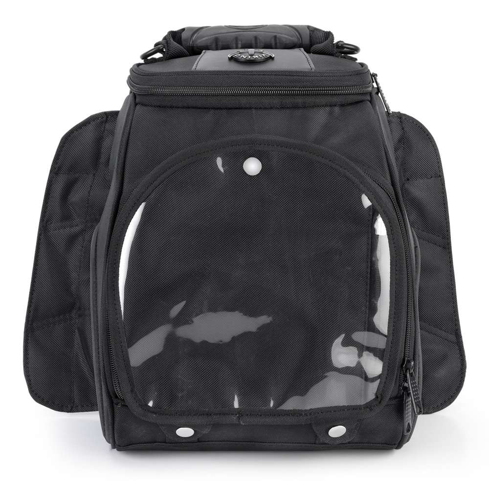 Viking 14 Large Motorcycle Tank Bag Front View