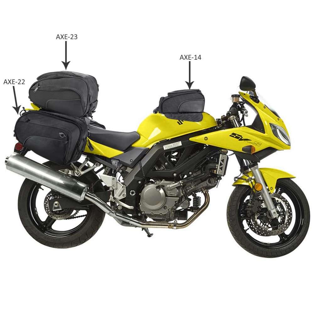 Viking 14 Large Motorcycle Tank Bag  AXE Series