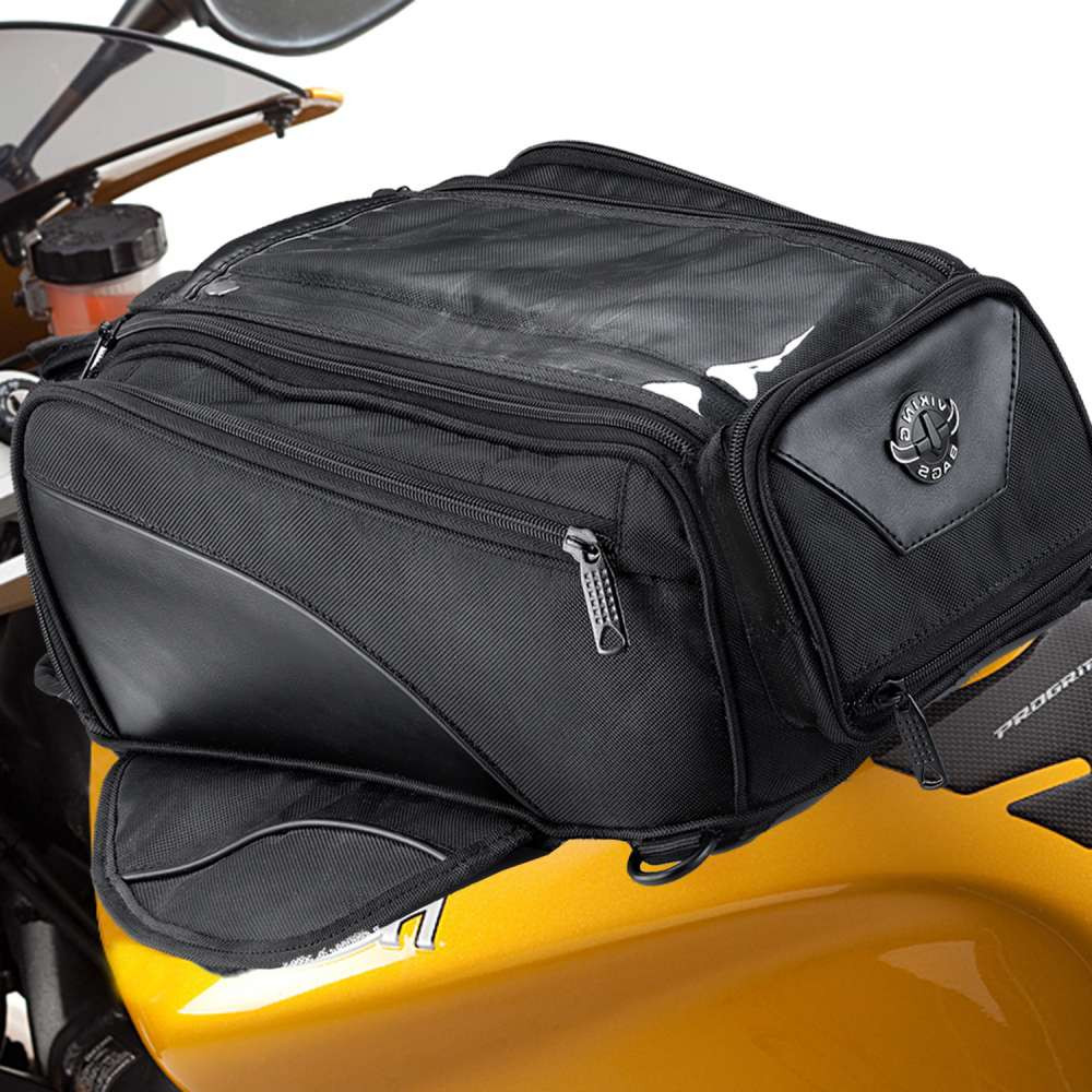 Viking Extra Large Motorcycle Tank Bag  on Bike View