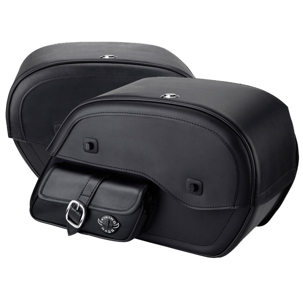 Honda Rebel 300 Viking Side Pocket Large Motorcycle Saddlebags Both Bags View