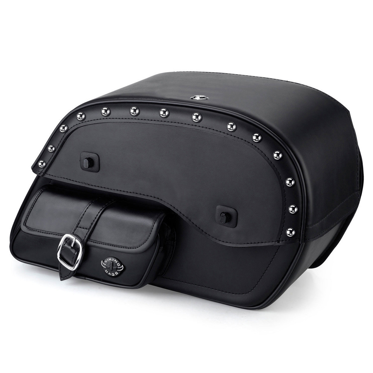 Viking Side Pocket Studded Saddlebags