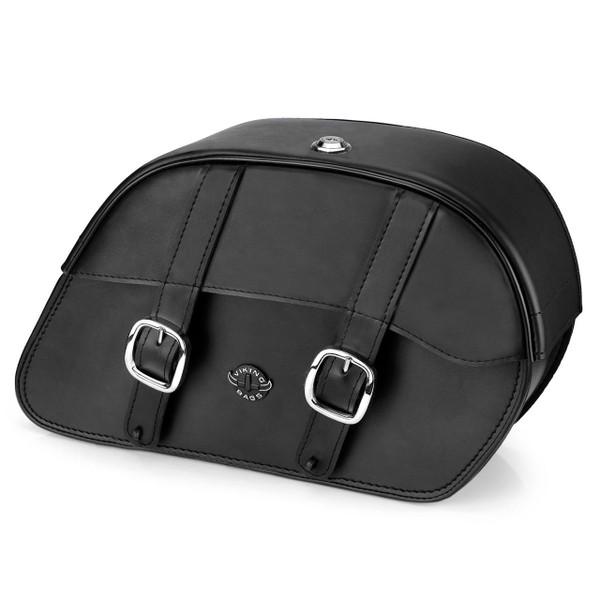 Vikingbags Shock Cutout Large Slanted Saddlebags Main Image