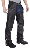 Nomad USA Elastic Fit Leather Chaps
