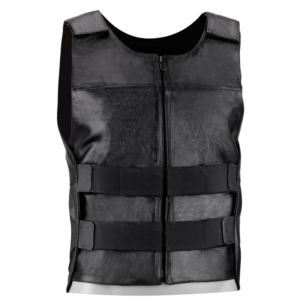 VikingCycle Bullet Proof Style Motorcycle Vest for Men