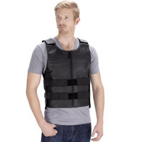 VikingCycle Bullet Proof Style Motorcycle Vest for Men Front Side