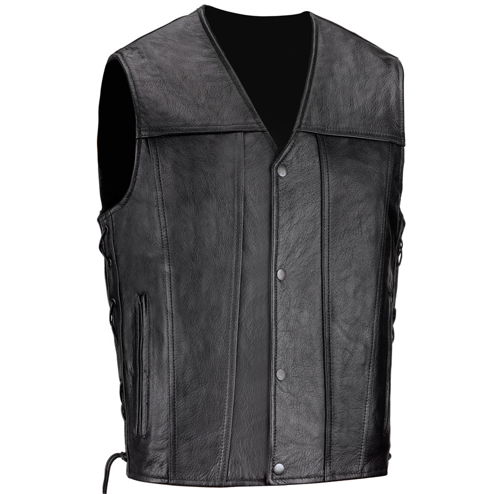 VikingCycle Mens Armor Motorcycle Vest