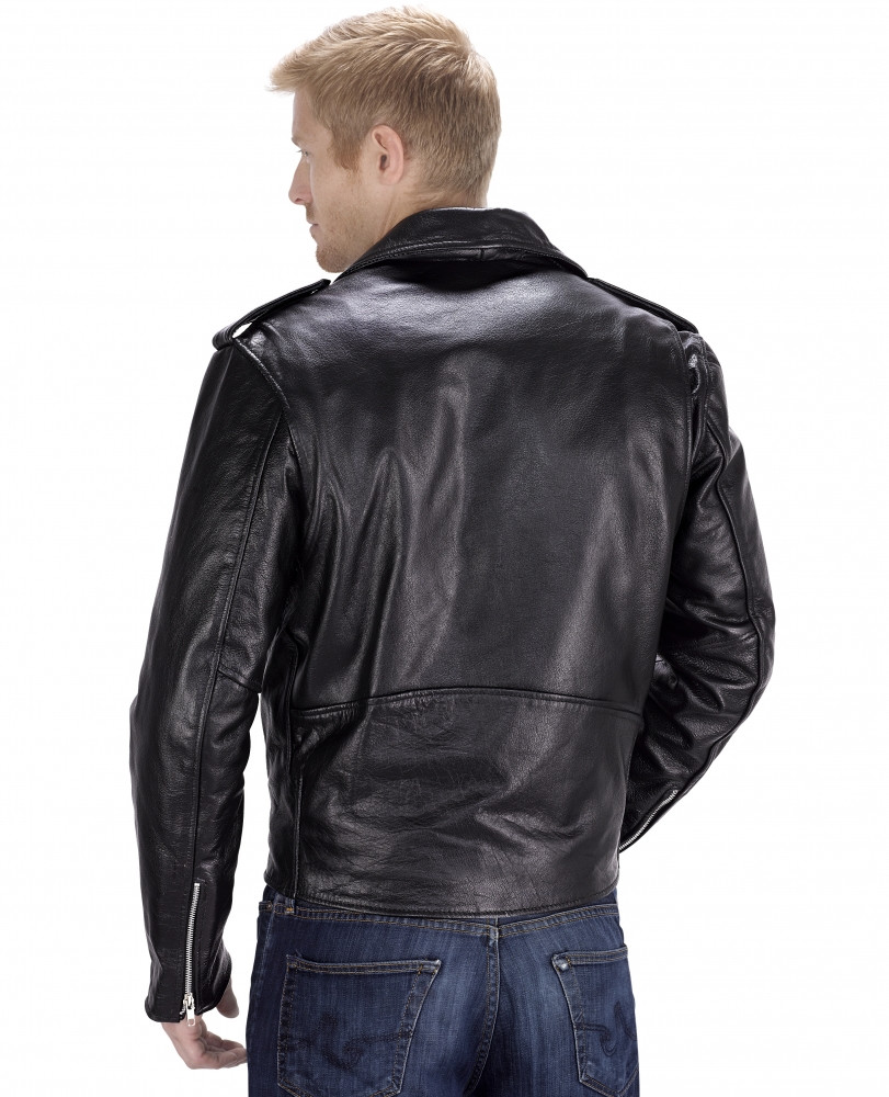 VikingCycle Angel Fire Motorcycle Jacket for Men Back Side