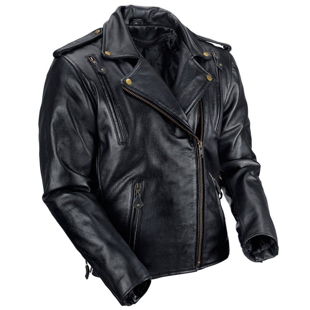 VikingCycle Dark Age Motorcycle Jacket for Men Side View