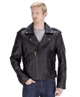 VikingCycle Dark Age Motorcycle Jacket for Men Front Side