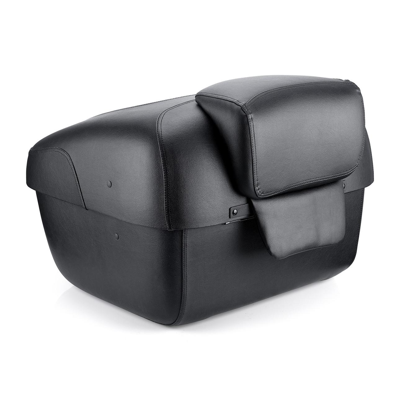 Viking Premium Leather Wrapped Hard Trunk Upper Image