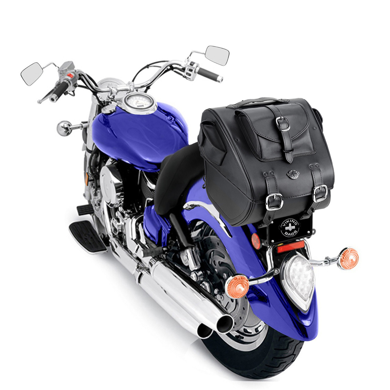 Viking Classic Trunk 3038 Cubic Inches Motorcycle Trunk  on Bike View
