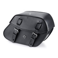 Viking Odin Large Leather Motorcycle Saddlebags