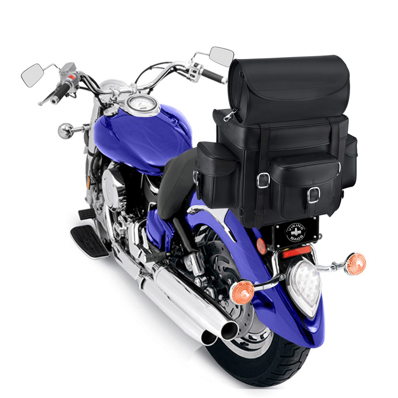 Revival Series Large Sissy Bar Bag On Bike View