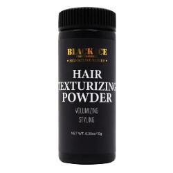 Black Ice Hair Texturizing Powder Volumizing Styling 0.35 oz