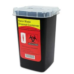 Razor Blade Disposal Container