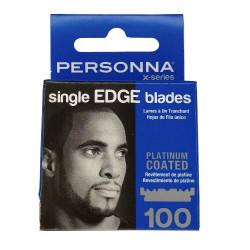 Personna X-Series Single Edge Blades - 100pk