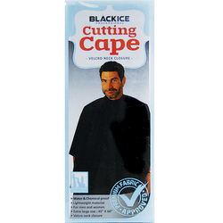 Black Ice Cutting Cape Black
