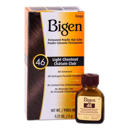 Bigen Permanent Hair Color - 46 Light Chesnut