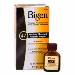 Bigen Permanent Hair Color - 47 Medium Chesnut