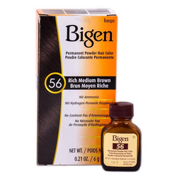 Bigen Permanent Hair Color - 56 Rich Medium Brown