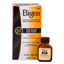 Bigen Permanent Hair Color - 57 Dark Brown