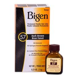 Bigen Permanent Hair Color - 57 Dark Brown