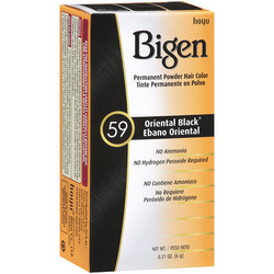 Bigen Permanent Hair Color - 59 Oriental Black
