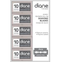 Diane Double Edge Shaving Blades - 100ct