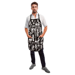 Betty Dain Vintage Apron - Black