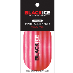 Black Ice Hair Gripper - Red