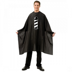 Betty Dain Barber Pole Styling Cape