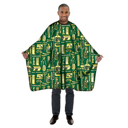 Betty Dain Gold & Green Limited Edition Styling Cape