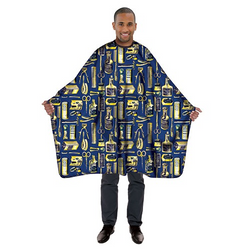 Betty Dain  Gold & Blue Limited Edition Styling Cape