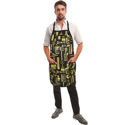 Betty Dain Gold & Black Limited Edition Vintage Apron