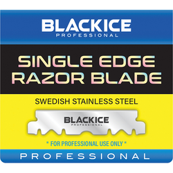 Black Ice Single Edge Razor Blades