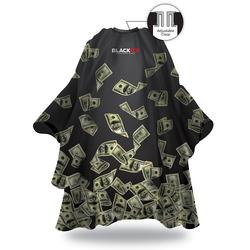 Black Ice Money Shower Barber Cape