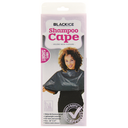 Black Ice Shampoo Cape Small