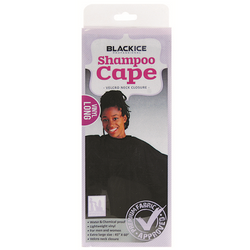 Black Ice Shampoo Cape Large