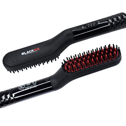 Black Ice Beard Straightening Brush