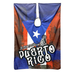 Betty Dain Boricua Barber Cape