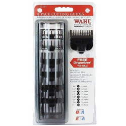 Wahl Professional 8-Pack Cutting Guides Black 3170-500