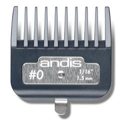 Andis Master Premium Metal Clip Comb Size 0